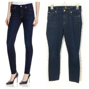 7 for All Mankind Mid Rise Skinny Jeans — 89